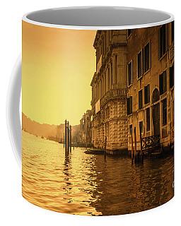 Morning In Venice Sepia Coffee Mug