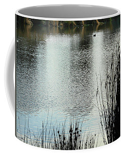 Coffee Mug featuring the photograph Morning Lake by Mark Blauhoefer