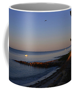 Morning Light At Grey Neck Beach Coffee Mug