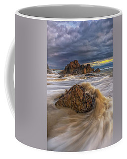 Morning Light At Marginal Way Coffee Mug
