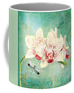 Morning Light - Dancing Dragonflies Coffee Mug