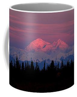 Morning Light On Denali Coffee Mug