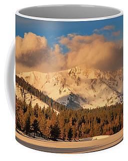 Morning Light On Tallac's Spring Snow Coffee Mug
