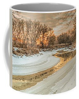 Morning Light On The Riverbank Coffee Mug