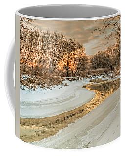 Morning Light On The Riverbank Coffee Mug