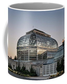 Coffee Mug featuring the photograph Morning Light On The United States Botanic Garden by Greg Mimbs