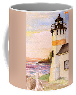 Morning, Lighthouse Coffee Mug