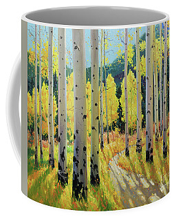 Morning Lights Of Aspen Trail Coffee Mug