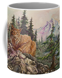 Morning Lynx Coffee Mug