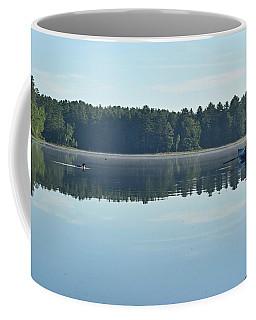 Morning Meeting Coffee Mug by Joy Nichols