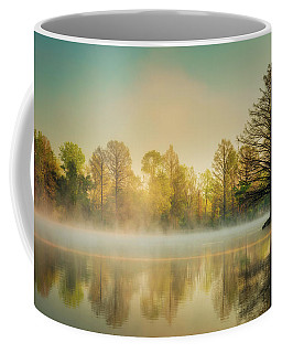 Coffee Mug featuring the photograph Morning Mist At Honor Heights  by James Barber