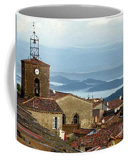 Coffee Mug featuring the photograph Morning Mist In Provence by Lainie Wrightson