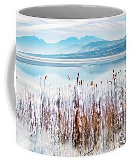 Morning Mist On The Lake Coffee Mug