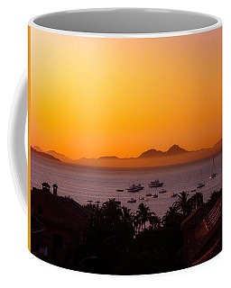 Coffee Mug featuring the photograph Morning Mist by Scott Carruthers
