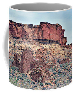 Coffee Mug featuring the photograph Morning Mountain View by Debby Pueschel