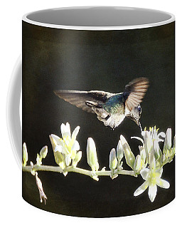 Morning Nectar Flyby  Coffee Mug