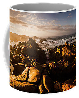 Coffee Mug featuring the photograph Morning Ocean Panorama by Jorgo Photography - Wall Art Gallery