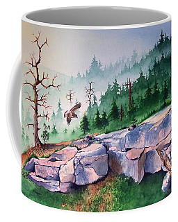 Morning Of The Hawk Coffee Mug