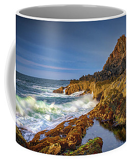 Coffee Mug featuring the photograph Morning On Bailey Island by Rick Berk