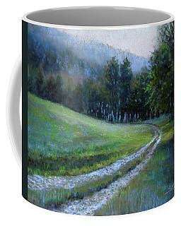 Morning On Blue Mountain Road Coffee Mug