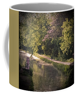 Coffee Mug featuring the photograph Spring Morning On The Canal by Samuel M Purvis III