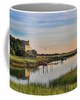 Morning On The Creek - Wild Dunes Coffee Mug
