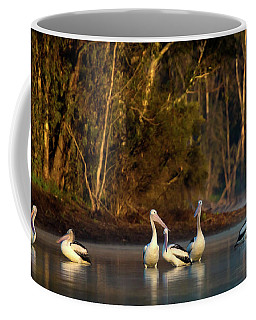 Morning On The River Coffee Mug