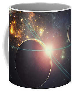 Morning Over The Planet X Coffee Mug