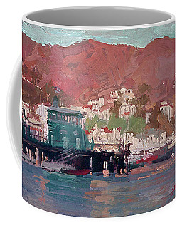Morning Pleasures - Catalina Harbor Coffee Mug