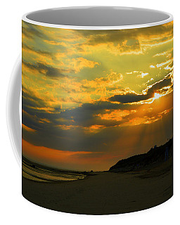 Morning Rays Over Cape Cod Coffee Mug by Dianne Cowen