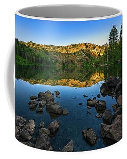 Morning Reflection On Castle Lake Coffee Mug