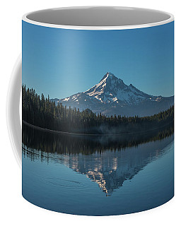 Morning Reflections Of Mount Hood Coffee Mug