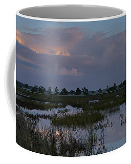 Morning Reflections Over The Wetlands Coffee Mug