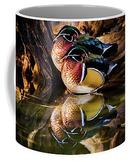 Morning Reflections - Wood Ducks Coffee Mug