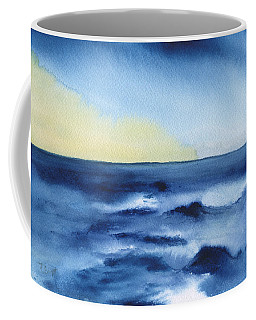 Coffee Mug featuring the painting Morning Sea by Frank Bright