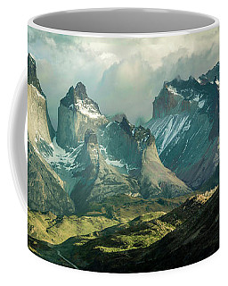 Morning Shadows Coffee Mug by Andrew Matwijec