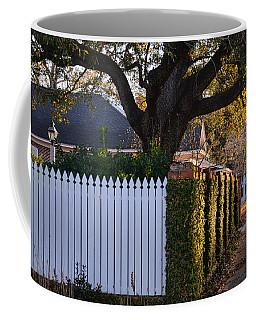 Morning Sidewalk Coffee Mug by Linda Brown