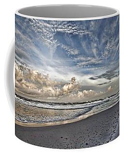 Morning Sky At The Beach Coffee Mug