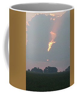 Morning Sky On Fire Coffee Mug