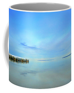 Coffee Mug featuring the photograph Morning Sky Reflections by SimplyCMB