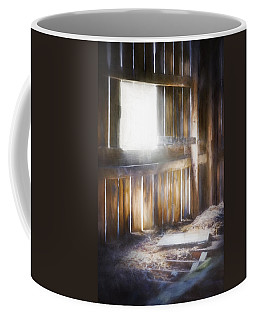 Morning Sun In The Barn Coffee Mug