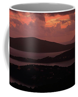 Morning Sunrise From St. Thomas In The U.s. Virgin Islands Coffee Mug