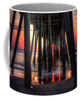 Morning Under The Pier Coffee Mug