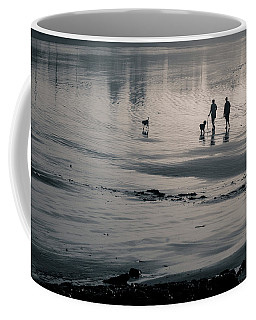 Morning Walk, Gooch's Beach, Kennebunk, Maine Coffee Mug