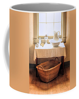 Coffee Mug featuring the painting Morning Window At Old World Wisconsin by Christopher Arndt