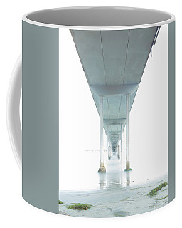 Coffee Mug featuring the photograph Mornings Underneath The Pier by James Sage