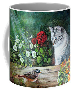 Morningsurprise Coffee Mug by Patricia Schneider Mitchell