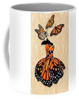 Coffee Mug featuring the mixed media Morphing by Marvin Blaine