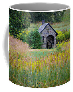 Coffee Mug featuring the photograph Morris Arboretum Mill In September by Bill Cannon