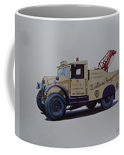 Morris Commercial Wrecker. Coffee Mug by Mike Jeffries
